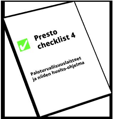 Presto-checklist